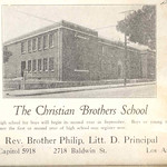 1923, The Christian Brothers School