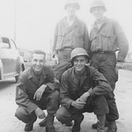 1943-44, Joe and Military Friends