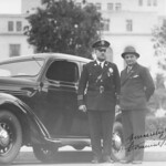 1935, With Chief of Police
