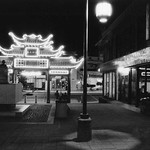 2000, Plaza at Night