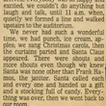 1978, Depression Christmas Gift