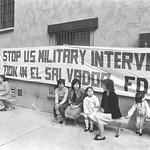 March 7, 1983, Protest of Policies in El Salvador